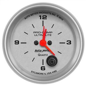 AutoMeter 4485 Ultra-Lite Clock