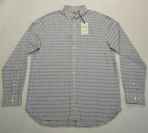 Brand New RM Williams Collins Button Front Shirt Size XL Men's Long Sleeve White