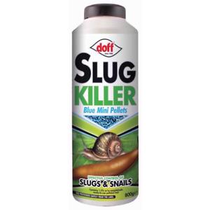 DOFF SLUG KILLER 800g Pellets Pelleted Slug Snail Killer Mini Blue Pellets UK