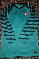 Atletico de Madrid player issue goalkeeper shirt match worn Courtois Oblak