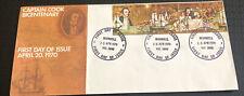 Australia fdc 1970 Captain Cook Bicentenary