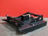 "Greatbear 72"" Rotary Brush Cutter Hydraulic Skid Steer Attachment bidadoo -New"
