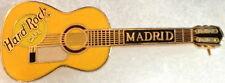 Hard Rock Cafe MADRID Yellow Manuel Ramirez FLAMENCO ACOUSTIC GUITAR PIN #5132