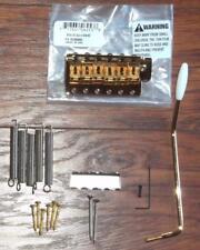 Fender® American Vintage SRV Strat LH Gold Bridge Assembly~0038959000~Brand New