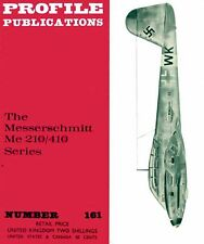 Me 210-410 SERIES PROFILE #161: 6 NEW PAGES+CUTAWAY/ NEW PRINT FACSIMILE EDITION