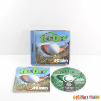 Tee Off - Boxed & Manual - GOOD CONDITION - Sega Dreamcast Game PAL