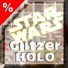 Holo Glitzer STAR WARS 1 - 48 Auswahl Sammelkarten Kaufland Karten Angebot WOW