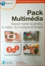 PACK MULTIMEDIA  1 DVD ROM - Savoir traiter la Vidéo, photo, musique - NEUF