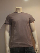 Tommy Hilfiger strech V NK té [talla M] señores t-shirt camisa grises jaspeadas nuevo embalaje original