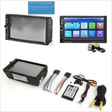 "Car 7"" HD Touch Screen MP3 MP5 Player Bluetooth Hands Free with Rear View Camera"