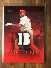 2009 Topps Career Best Relics Ryan Howard Jersey #CBR-RH