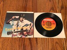 PAUL McCARTNEY Take It Away Picture Sleeve & 45 rpm