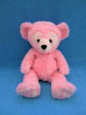 "Disney Hidden Mickey Pre Duffy Pink Bear 17"" Plush - Mint !"