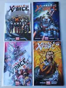 Marvel Now! Cable and X-Force Vol. #1-4 TPB Graphic Novels