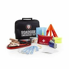 Roadside Assistance Emergency Car SUV Kit - First Aid Kit, Jumper Cables + More!