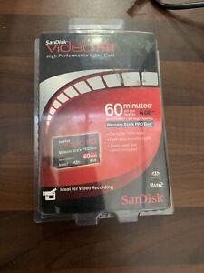 SanDisk Memory Stick PRO Duo 4GB videoHD Mark 2 MagicGate SONY PSP Card Genuine