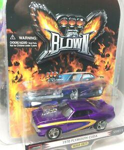 One Badd Ride *Blown SERIES * 70 Plymouth Cuda ** Purple** 1/64 Scale
