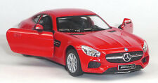 NEU: Mercedes AMG GT Coupé Sammlermodell ca. 1:36 / 12,5 cm rot Neuware WELLY