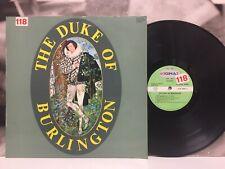 THE DUKE OF BURLINGTON LP EX-/EX 1970 ITALY SIGNAL S-LP 3001 LAMINATED COVER