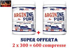 PROLABS Arginine Pure Capsule di Integratore Alimentare Sportivo - 300 Pezzi (ARP300CPR)
