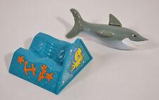 "RARE 1998 Glut Shark 4"" McDonald's EUROPE Action Figure Disney Little Mermaid"