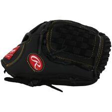 "New Rawlings Playmaker PM1200B baseball softball 12"" RHT glove basket web black"