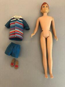 1965 Ricky Doll w/ outfit Skipper friend VINTAGE BARBIE MATTEL