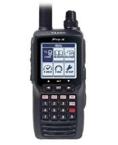Yaesu FTA-550 PRO-X Nav/Com Air Band VHF Radio Transceiver (AA Batteries)