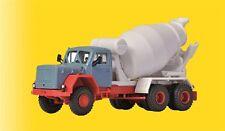 Viessmann 1136 gauge H0 Magirus Eckhauber with Rotating Mixing Truck # NIP #