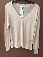 H&M Long Sleeve V Neck None Jumpers & Cardigans for Women