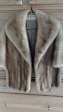 Vintage CHRISTIAN DIOR Fur Shrug Shawl Cape Stole Scarbroughs