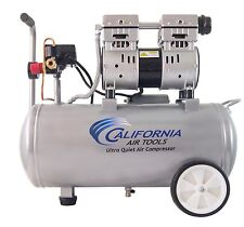 CALIFORNIA AIR TOOLS 8010 Ultra Quiet, Oil-Free Air Compressor - USED