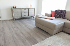 LOOSE LAY GREY OAK Vinyl Flooring planks - DIY floor NO click glue down laminate