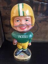 Vintage Green Bay Packers Bobblehead Nodder Real Face Version Rare 1960