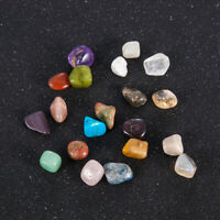 20Pcs Healing Crystal Gemstone Tumblestone Reiki Chakra Tumbled Natural Stone