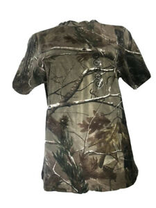 Men's XL Realtree Camouflage Fitted T-Shirt
