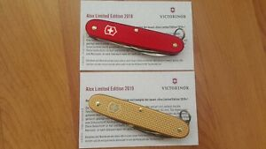 Victorinox Alox Pioneer (2018 and 2019) Soldier Swiss Army Knife