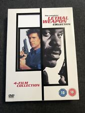 Lethal Weapon Collection • 1 -4 Films Boxset (DVD, 2005, 4-Disc Set, Box Set)