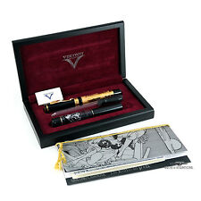 Visconti Erotic Art LE 18k Yellow Gold Fountain Pen - RARE