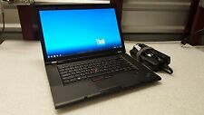 ThinkPad W530, i7-3820QM,16GB,1TB, nVidia K2000m,Webcam, Win 10 Office 2010 Dock