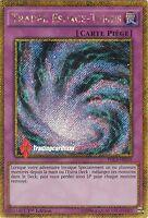 ♦Yu-Gi-Oh!♦ Trappe Espace-Temps (Time-Space Trap Hole) : PGL3-FR039 -VF/SECRET-