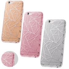^ Fashion Glitter Geometric Bling Tasche Cover Schutzhülle Etui LG X Power 2