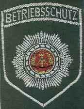 DDR Ärmelabzeichen Betriebsschutz für Uniformbluse