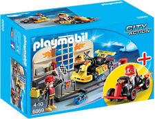 Playmobil 6869 starterset Go Kart Taller
