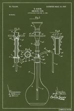 BONG PATENT - WEED POSTER 12x18 - FUNNY WITTY PP046