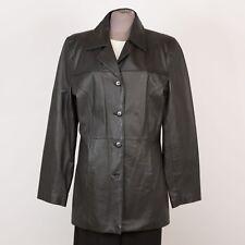 Women's Leather Jacket Size M Medium 10 CLIO