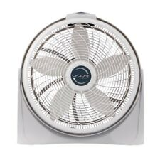 Cyclone Power Circulator Fan Floor Operates Quietly 20 in. Powerful Speeds