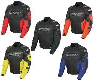 2021 Joe Rocket Resistor Mesh & Textile Street Motorcycle Jacket Size & Colors