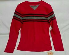 Shirt Young Men's Urban Pipeline Red Long Sleeve With Stripes Xl