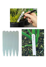 SupaGarden 6 inch Plant Labels With FREE Pencil (Pack of 50)